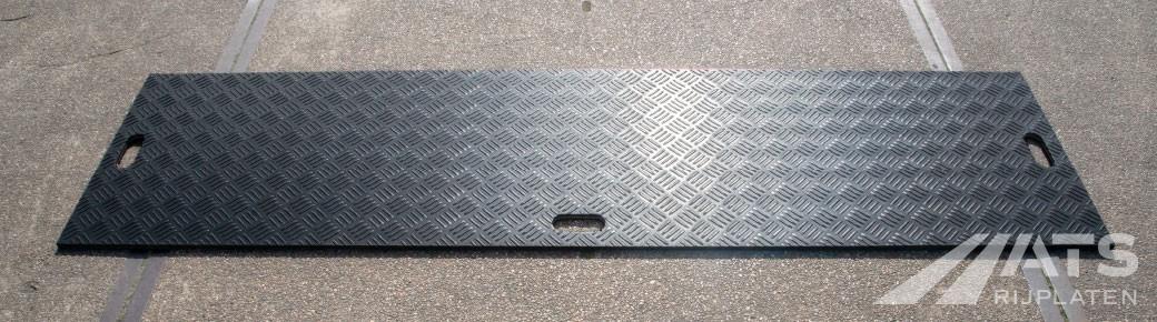 240mm A-kwaliteit kunststof rijplaat